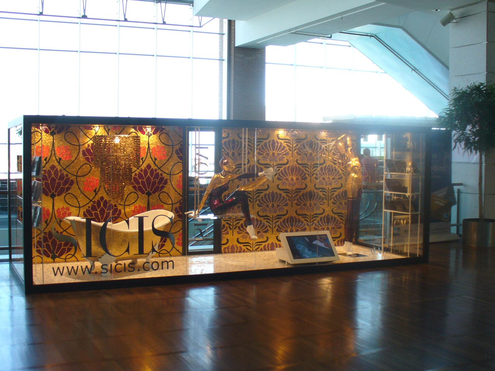 spazio espositivo aeroporto di Venezia