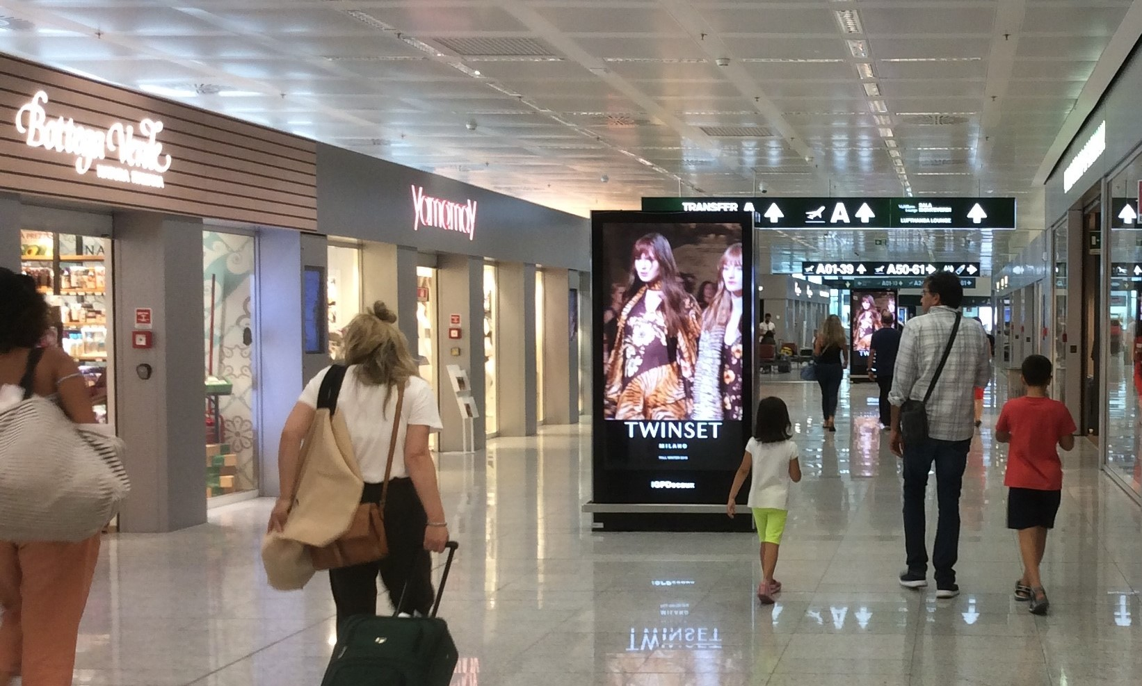 digital aeroporto di Malpensa